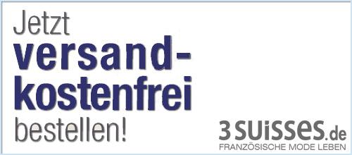 3 Suisses - Keine Versandkosten