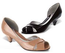 Peeptoe-Schuhe von 3 Suisses für nur 15,- EUR statt 19,99 EUR
